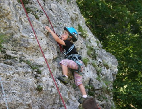 Gumica – plezalec