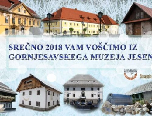 Lepe praznike in vse dobro v novem letu vam želimo iz muzeja!