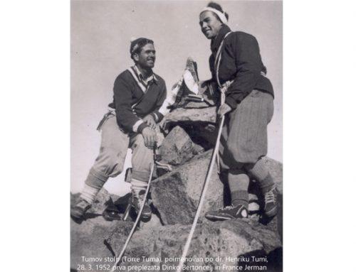 Dinko Bertoncelj, prvi Slovenec v Himalaji