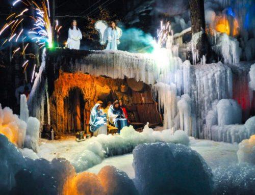 Žive jaslice v ledenem kraljestvu