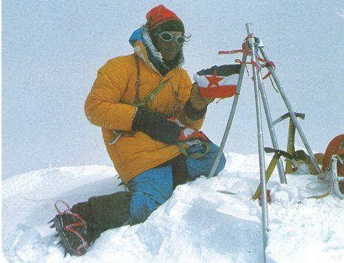 Der 40. Jahrestag der Slowenischer Erstbesteigung des Mount Everest