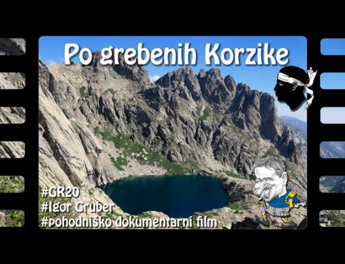 Po grebenih Korzike: pohod po poti GR20, predpremiera