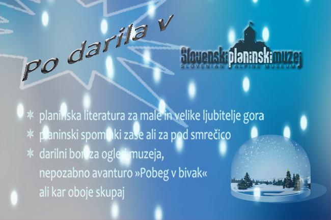 Po darila v Slovenski planinski muzej