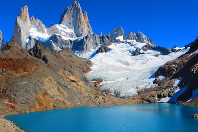 Ognjena zemlja in Patagonija – raj za popotnike in alpiniste