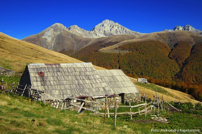 """Katuns"" of the Kuči Mountains"
