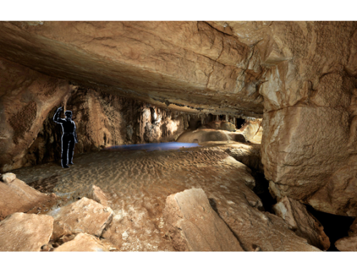 Čaganka: Tisoč metrov pod zemljo