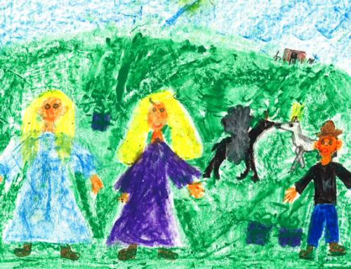 Pravljični šepet gora: Pravljica o Srebrnokrilcu