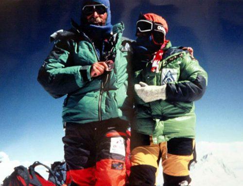 Marija in Andrej Štremfelj – Objem na vrhu sveta