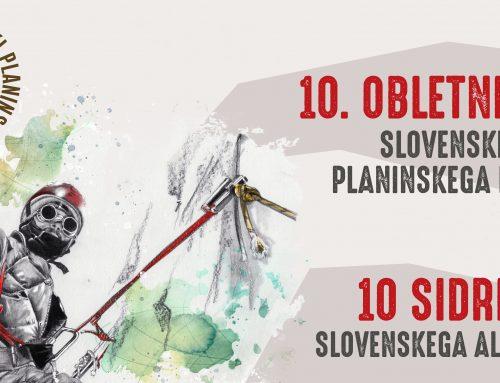 10 anchor points in Slovene alpine climbing