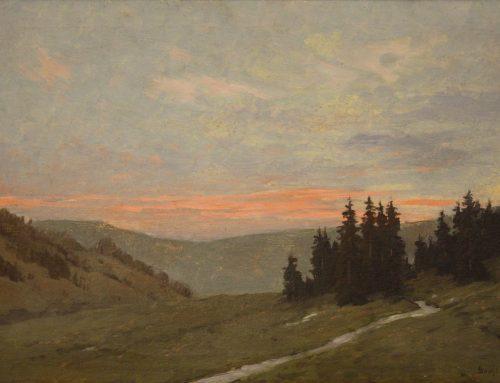 Gorski svet iz zbirke Umetnostne galerije Maribor