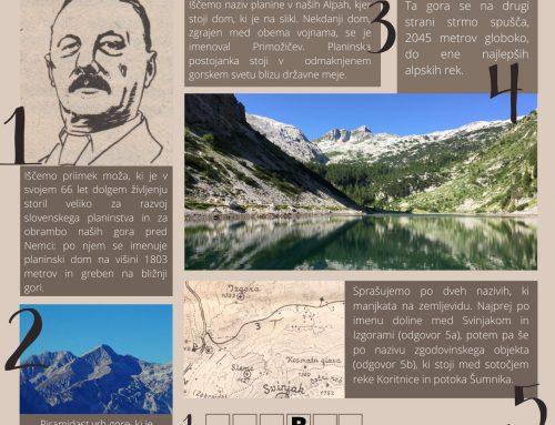 Planinski kviz – 21. decembra 2020