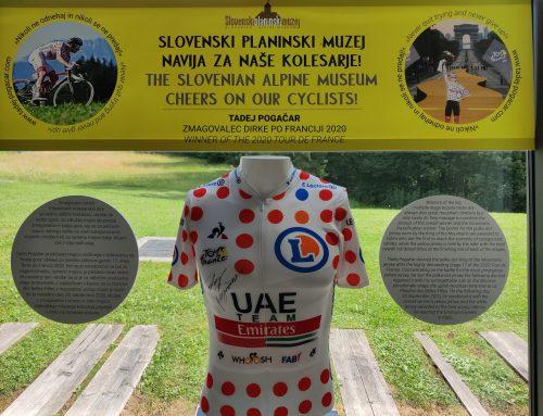 Pikčasta majica s Toura prihaja v najlepši slovenski muzej!