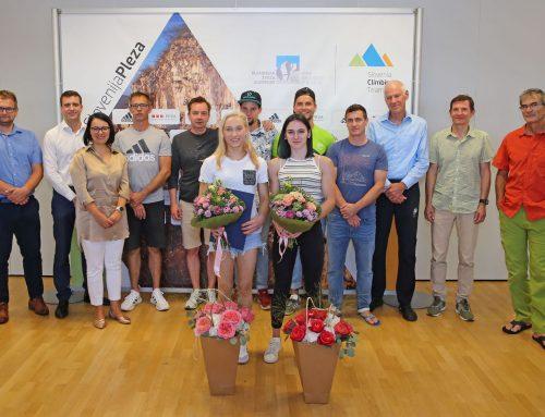 Zahvala olimpijkam za najlepšo promocijo športnega plezanja, 20. 8. 2021